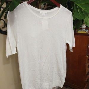 H&M (New) - short sleeved blouse (Sm)